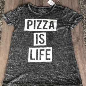 Pizza is life tee